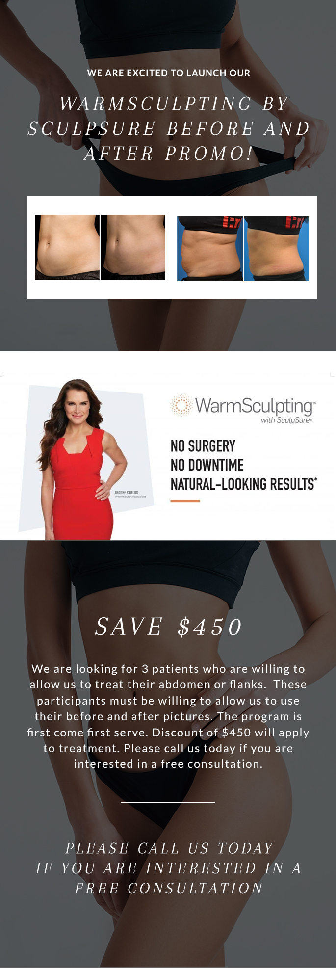 WarmSculpting by SculpSure Before and After Promo 2019