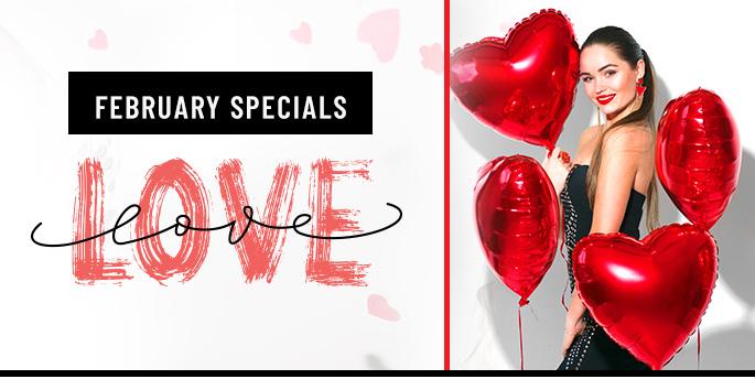 February Specials!