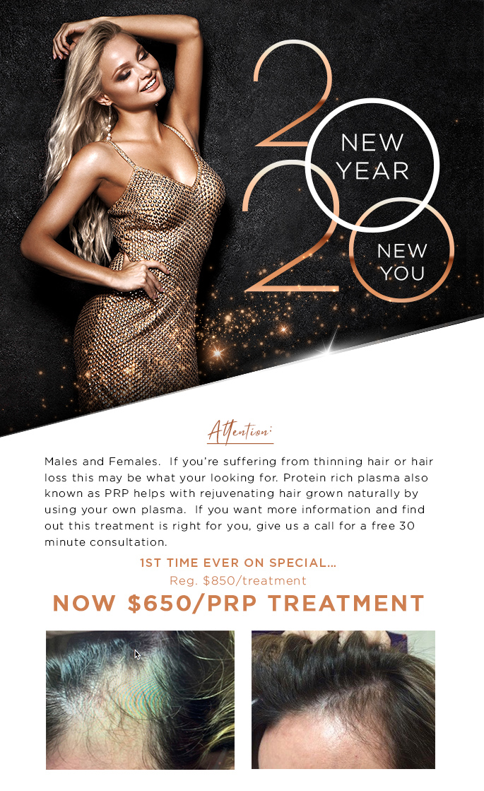 Ring in the New Year with our January Specials!